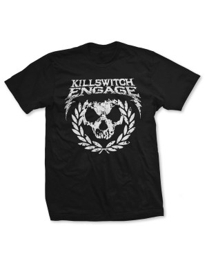 Killswitch Engage Men's Skull Emblem T-Shirt