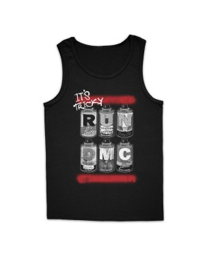 Run DMC Men's Spray Cans Vest