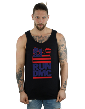Run DMC Men's USA Silhouette Vest