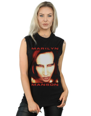 Marilyn Manson Women's Mechanical Animals Sleeveless T-Shirt