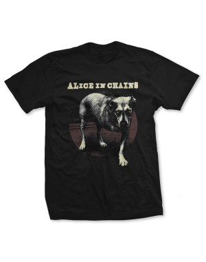 Alice In Chains Men's Three Legged Dog T-Shirt