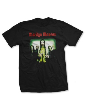 Marilyn Manson Men's Holywood Group T-Shirt