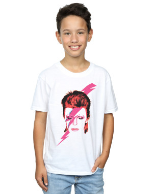 David Bowie Boys Aladdin Sane Lightning Bolt T-Shirt