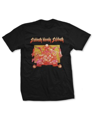 Black Sabbath Men's Sabbath Bloody Sabbath T-Shirt