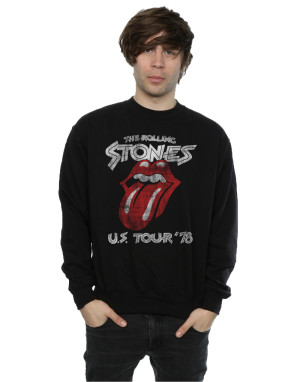 Rolling Stones Men's US 78 Tour Sweatshirt