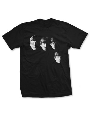 The Beatles Men's Four Heads T-Shirt