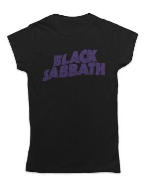 Black Sabbath Women's Distressed Logo T-Shirt
