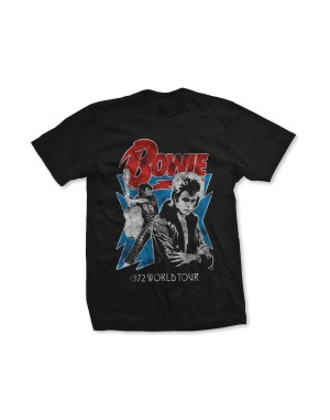 David Bowie Girls Tour 72 T-Shirt