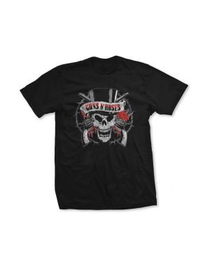 Guns N Roses Boys Distressed Death's Head T-Shirt