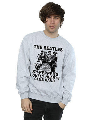 The Beatles Men's Lonely Hearts Club Band Sweatshirt