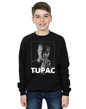 2Pac Boys Tupac Shakur Praying Sweatshirt