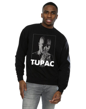 2Pac Men's Tupac Shakur Praying Sweatshirt