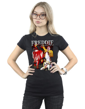 Freddie Mercury Women's Freddie Mercury Homage Slim Fit T-Shirt