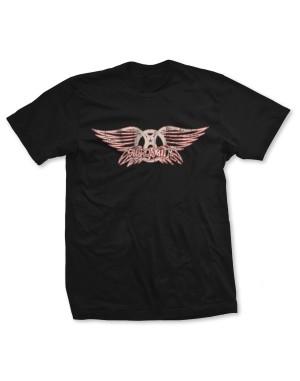 Aerosmith Men's Wing Logo T-Shirt