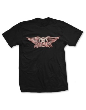 Aerosmith Men's Wing Logo T-Shirt