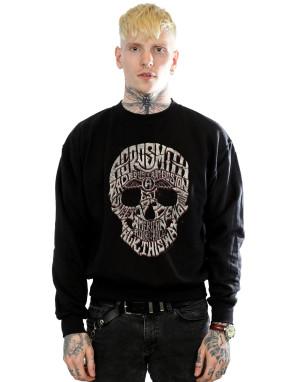 Aerosmith Men's Skull Sweatshirt
