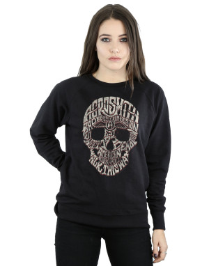 Aerosmith Women's Skull Sweatshirt