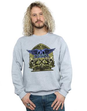 Aerosmith Men's Guitar Skeletons Sweatshirt