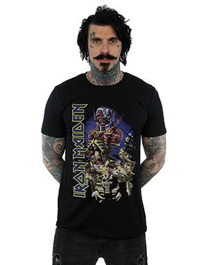 Iron Maiden Men's Somewhere In Time T-Shirt