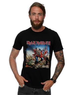 Iron Maiden Men's The Trooper T-Shirt