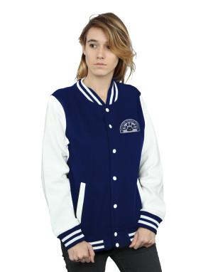 Lucky Seven Women's Hawkins Middle School Cubs Varsity Jacket