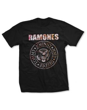 Ramones Men's Flower Rose T-Shirt