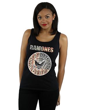 Ramones Women's Flag Seal Vest