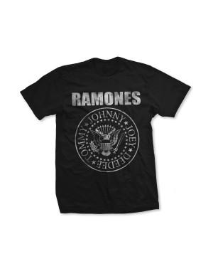 Ramones Girls Distressed Seal T-Shirt