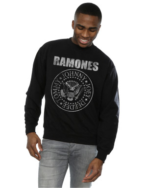 Ramones Men's Distressed Seal Sweatshirt