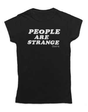 The Doors Women's People Are Strange T-Shirt