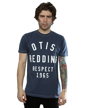 Aftershow Men's Otis Redding Respect 1965 T-Shirt