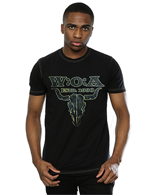Aftershow Men's Wacken Estd. 1990 Skull T-Shirt
