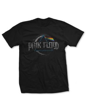 Pink Floyd Men's Dark Side of the Moon Circular T-Shirt