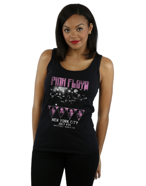 Pink Floyd Women's Tour NYC Vest