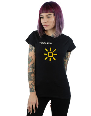 The Police Women's Invisibe Sun Slim Fit T-Shirt