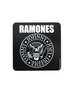 Ramones Single Cork Coaster: Presidential Seal