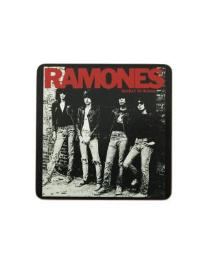 Ramones Single Cork Coaster: Rocket To Russia