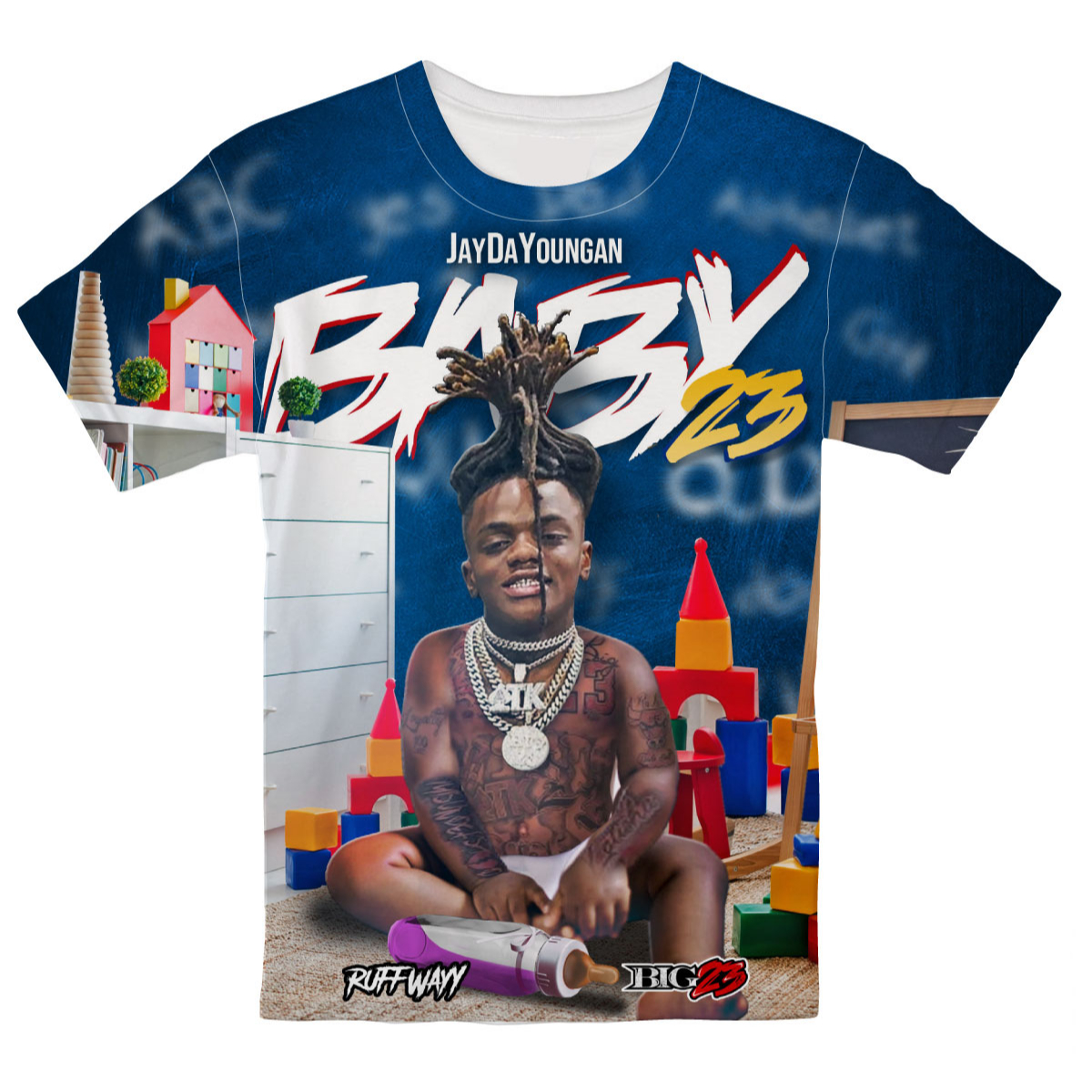 Baby23 All Over T-shirt