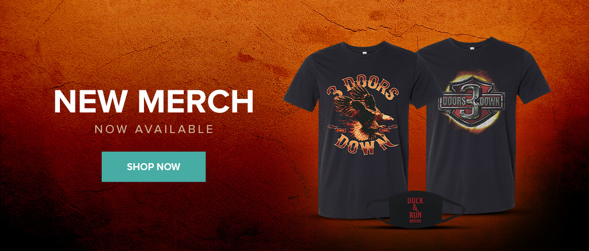 3 Doors Down - New Merch Available Now