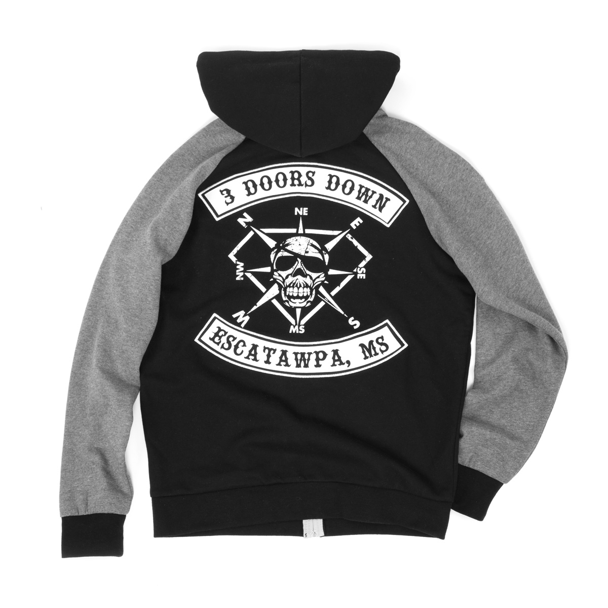3 Doors Down Custom Black Hoodie