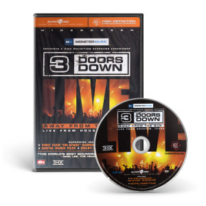 Away from the sun, live from Houston, Texas DVD
