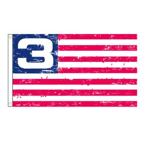 """3 Doors Down """"3"""" Flag"""