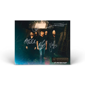 3 Doors Down 8X10 Photo - Signed