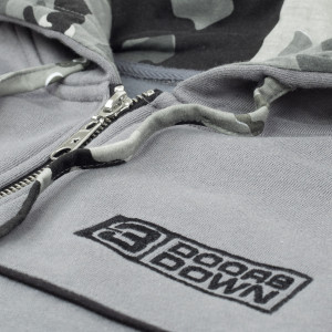 3 Doors Down Grey Hooded Sweat