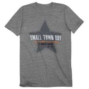 "3 Doors Down Eco Grey ""Small Town Boy"" Tee"