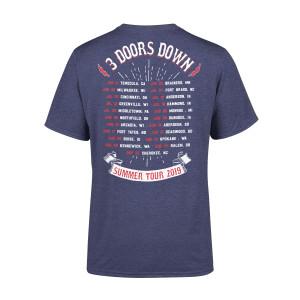 3 Doors Down 2019 Summer Tour Tee