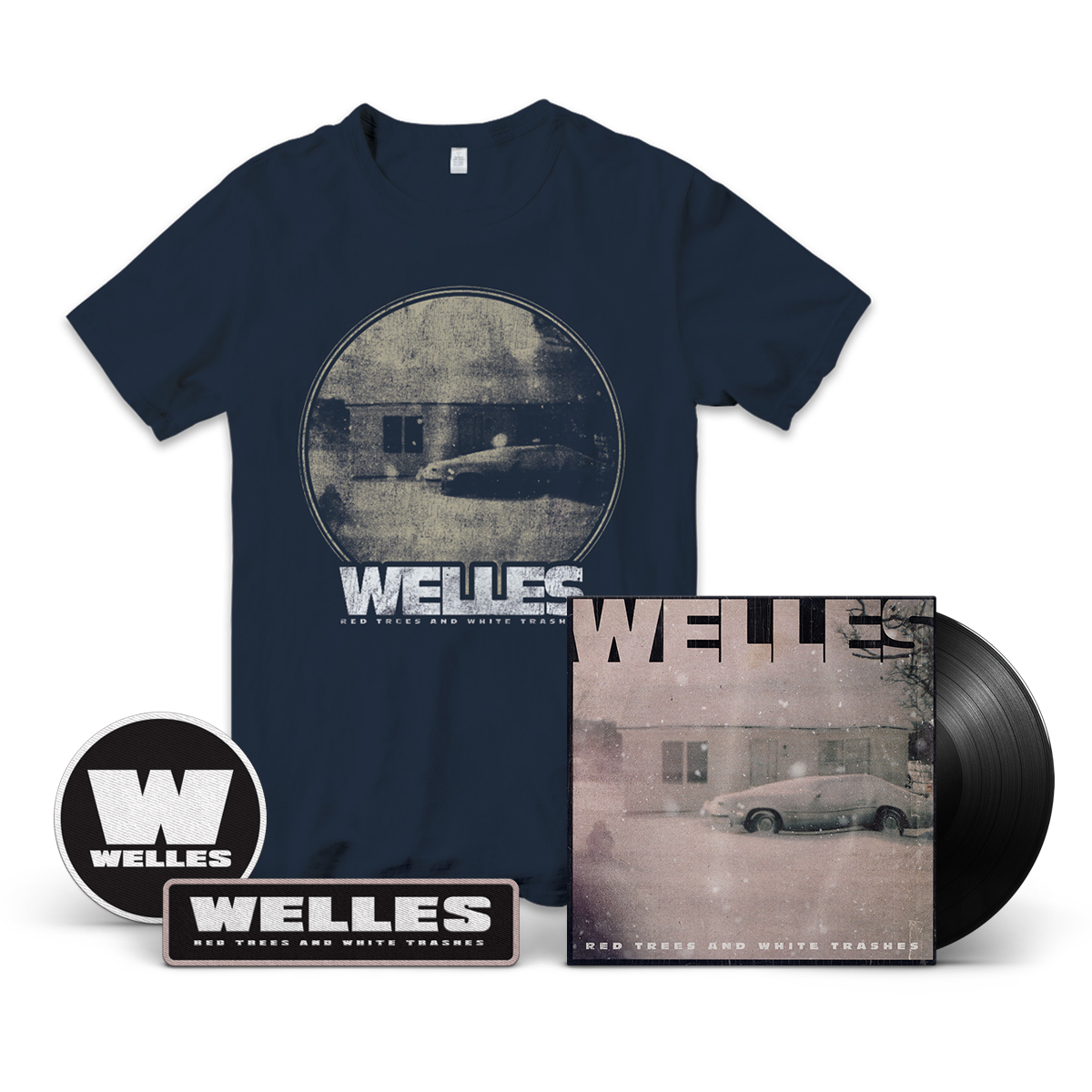 Red Trees and White Trashes Vinyl Bundle