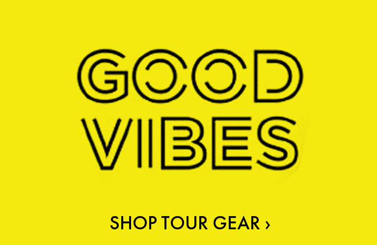 Jason Mraz - Good Vibes Tour Merchandise