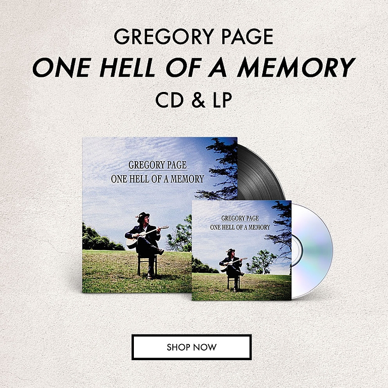 GREGORY PAGE - ONE HELL OF A MEMORY