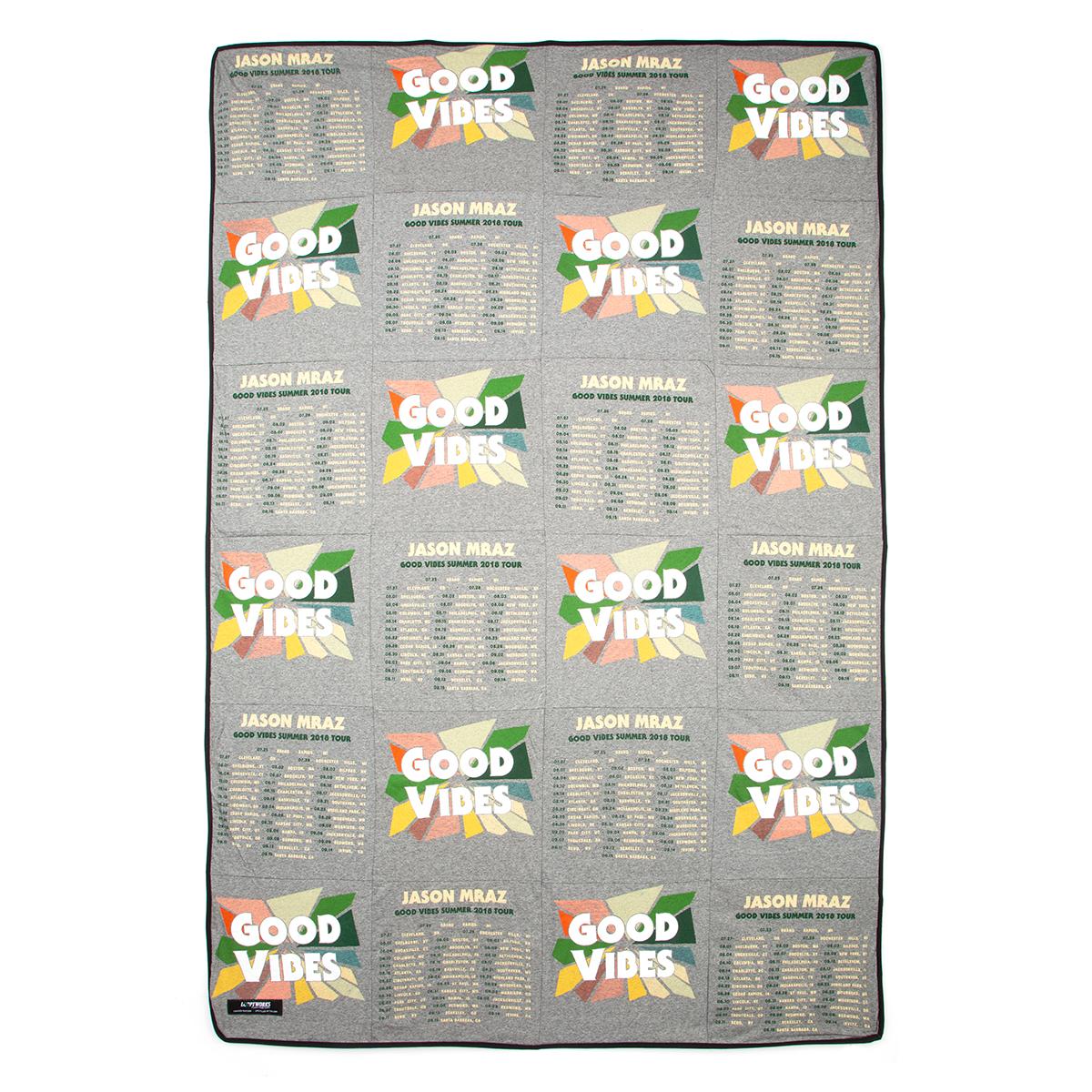 Jason Mraz Good Vibes 2018 Tour Dates Recycled Blanket